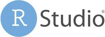 rstudio logo blue gray