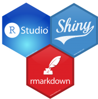 RStudio, Shiny and RMarkdown